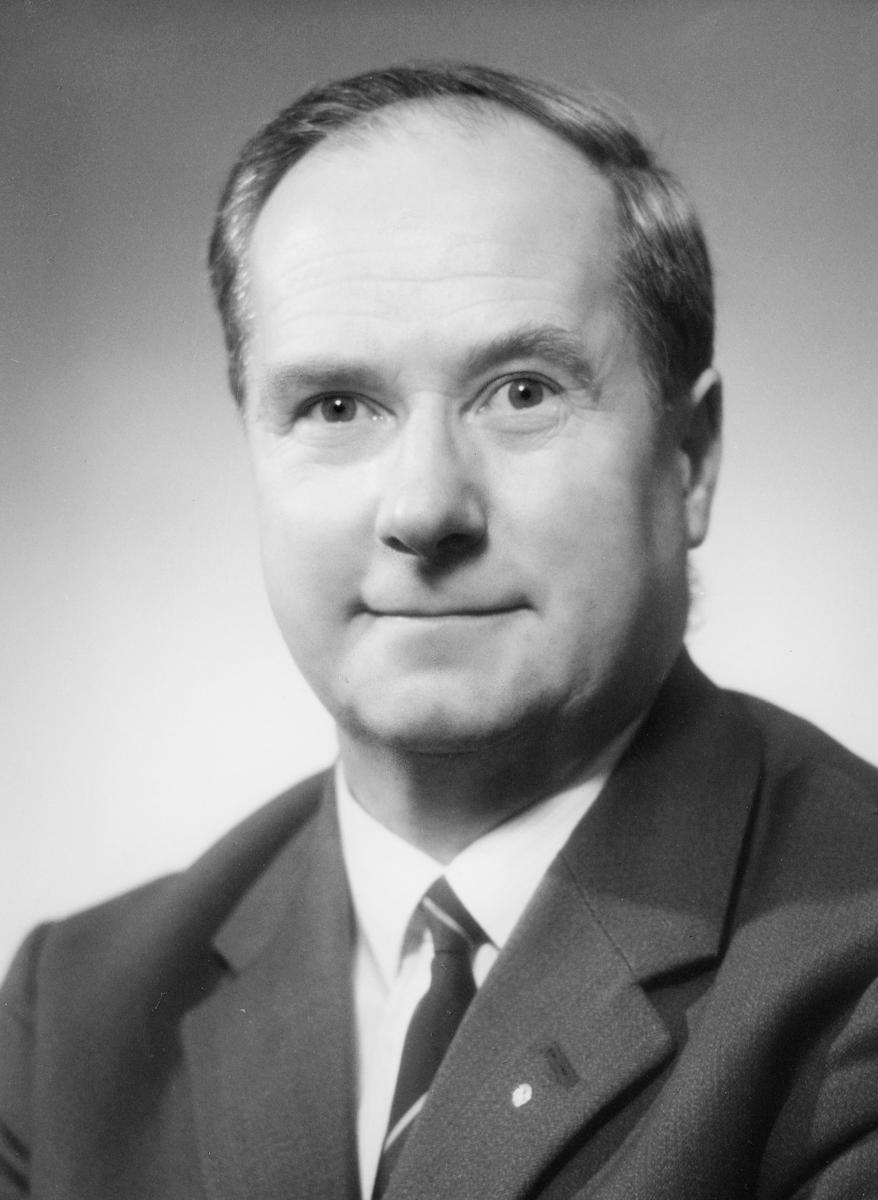 postmester, Hvammen Johan, portrett