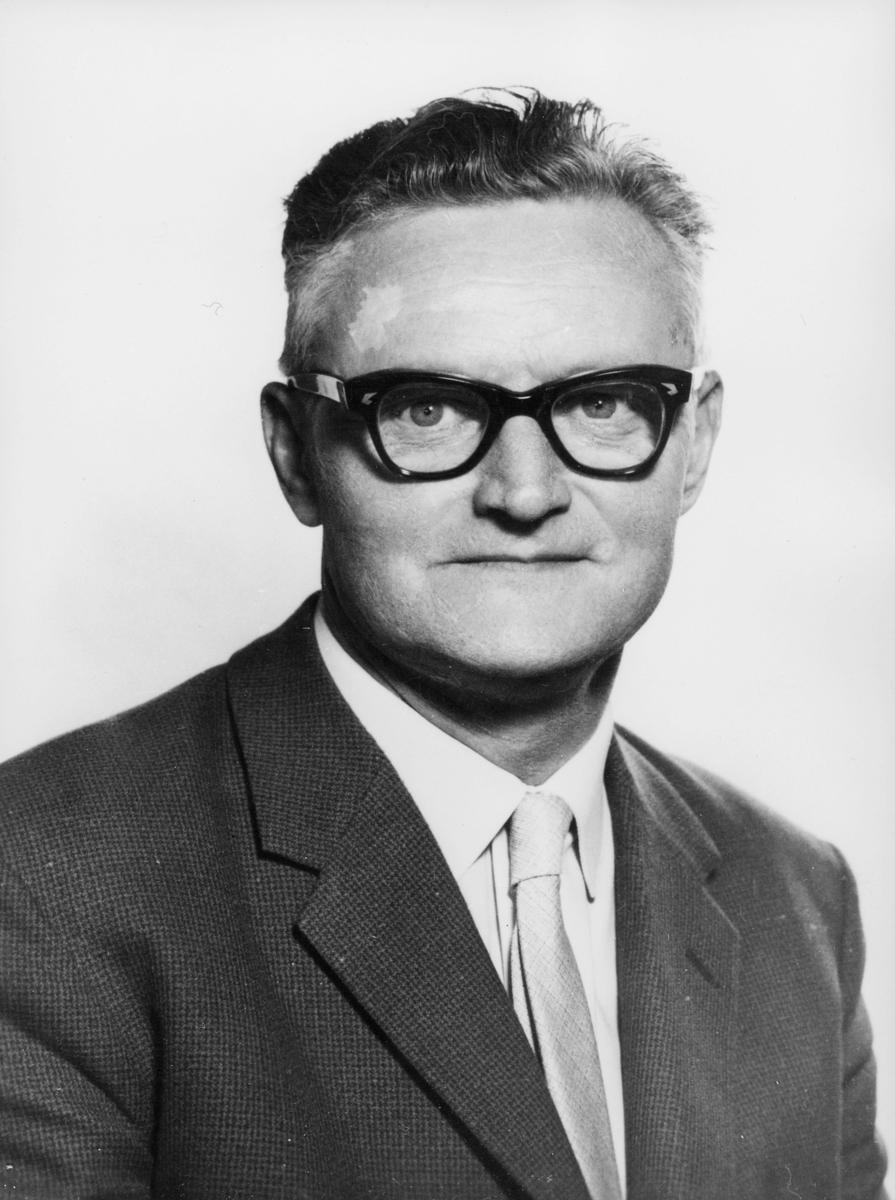 postmester, Nilsen Nordahl Jæger, portrett