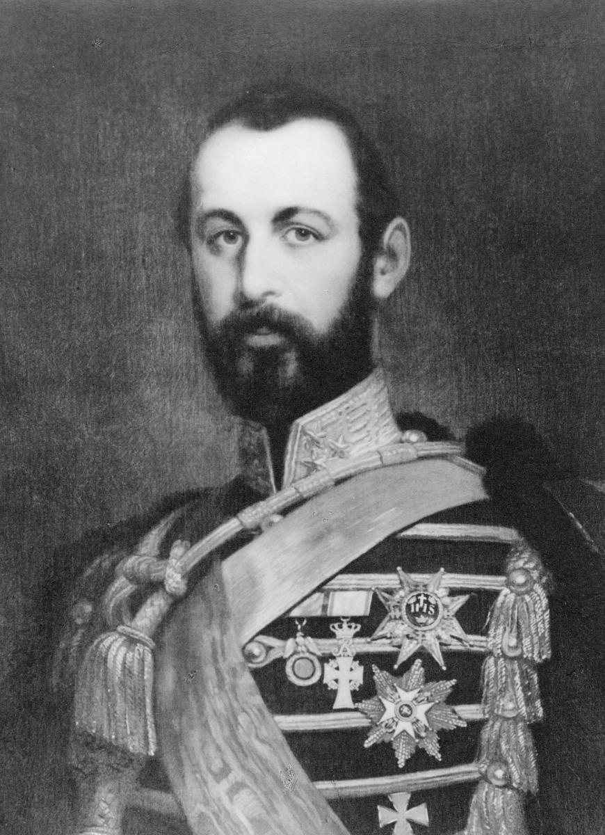 portrett, mann, kong Karl 15.