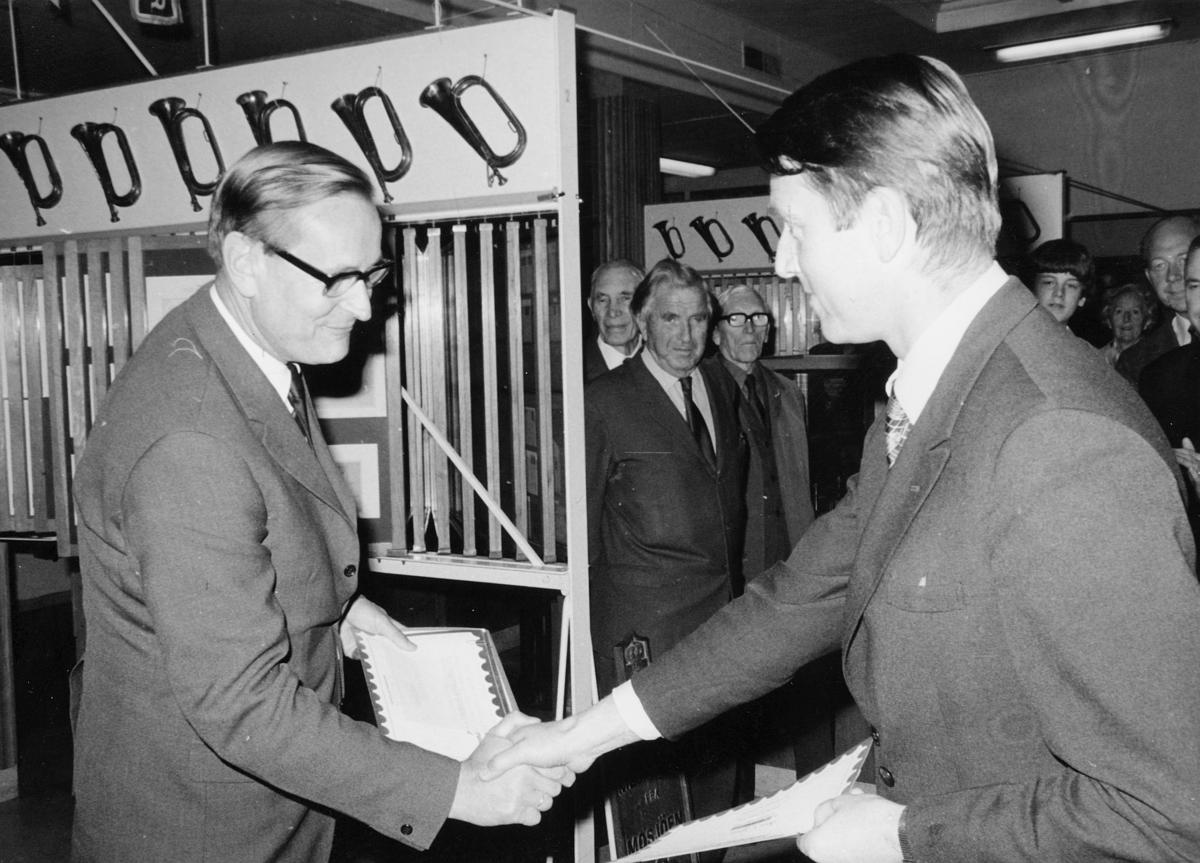 markedsseksjonen, Frimerkets dag '73, Postmuseet, utstilling, 9.-21. oktober, Ragnvald Rustung Bru