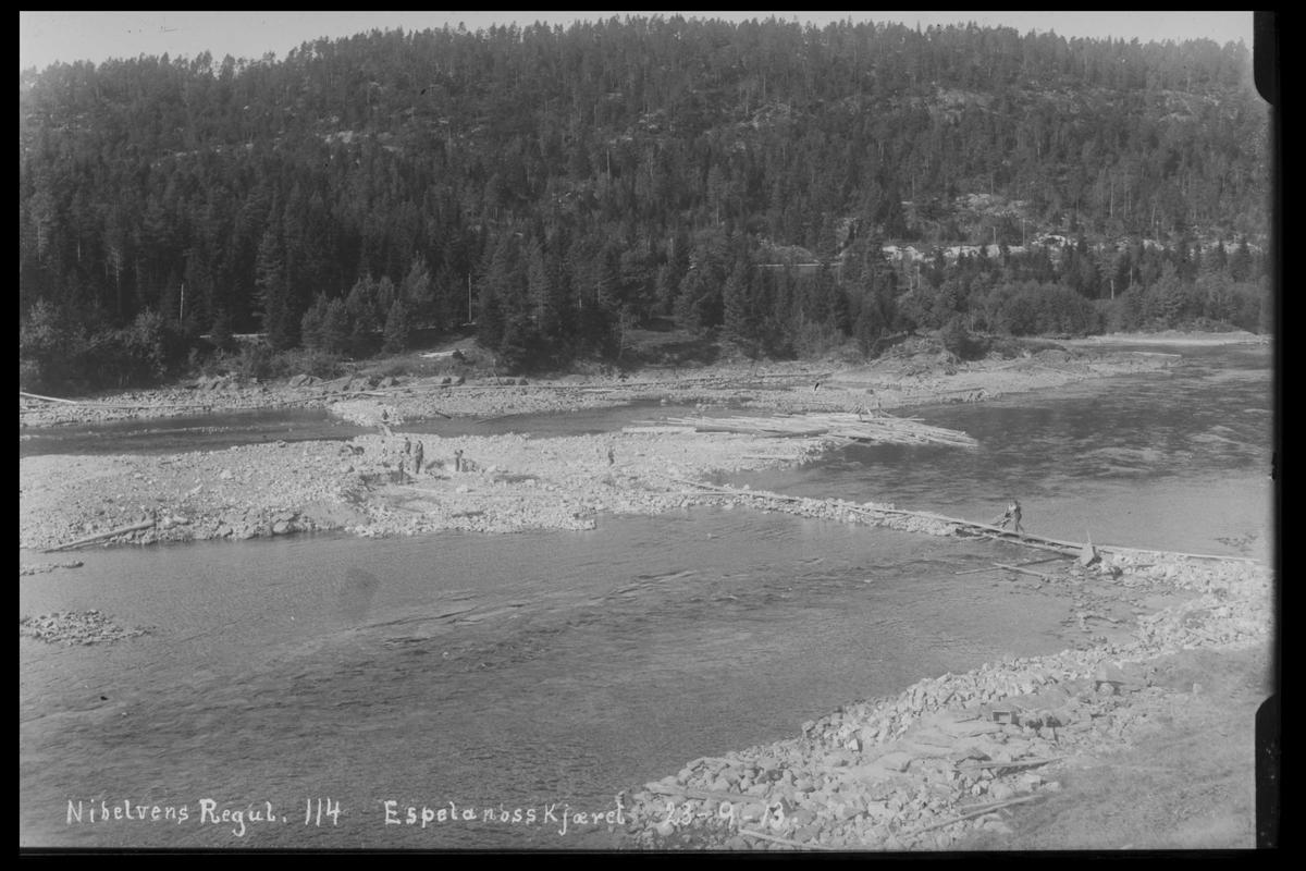 Arendal Fossekompani i begynnelsen av 1900-tallet CD merket 0468, Bilde: 99 Sted: Espelandsskjæret