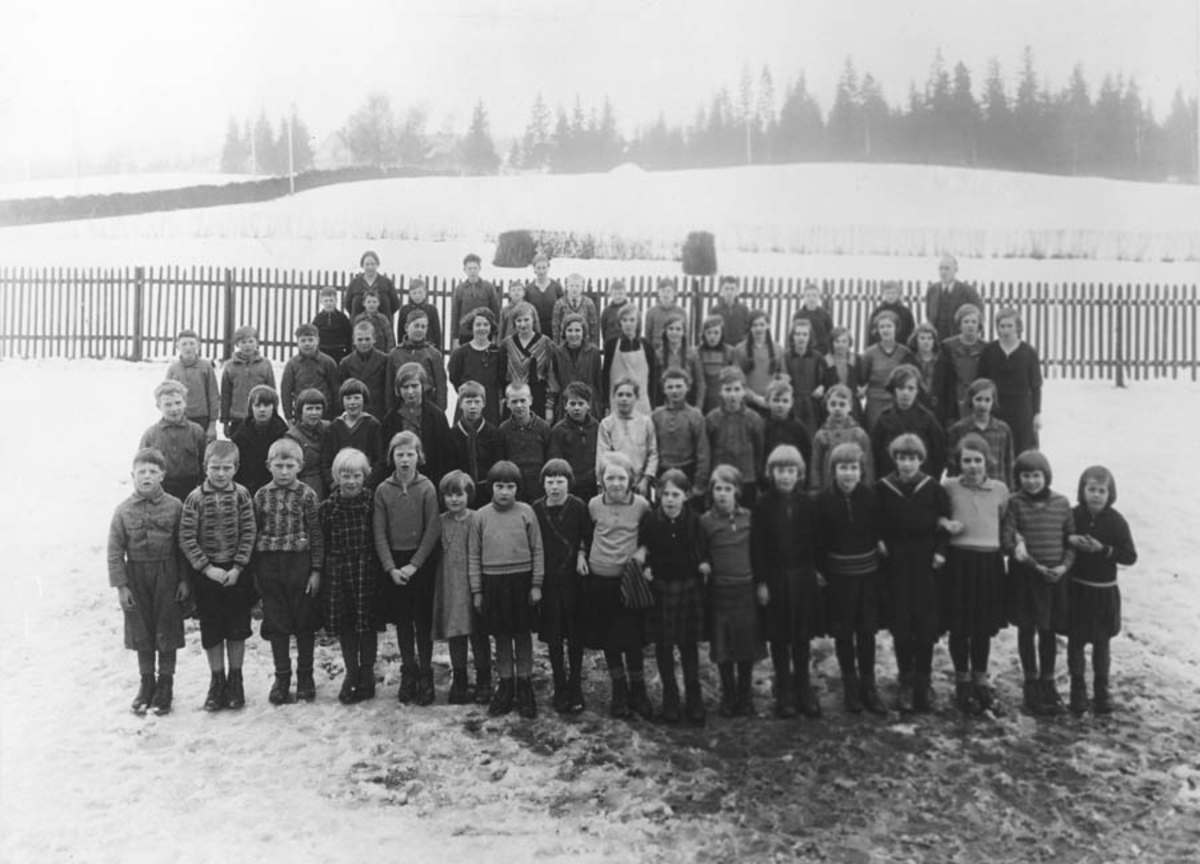 Skolebilde 4 - 7 klasse.