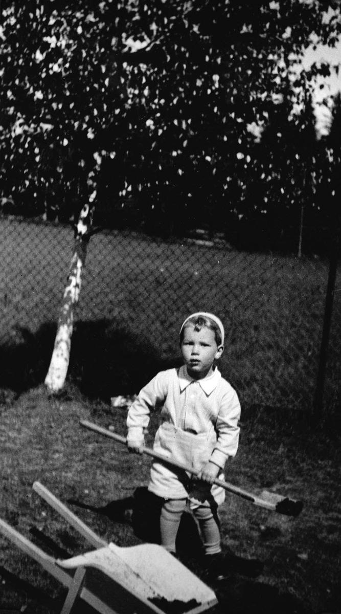 Lars Johan Gjørvad i aktivitet 2. pinsedag.