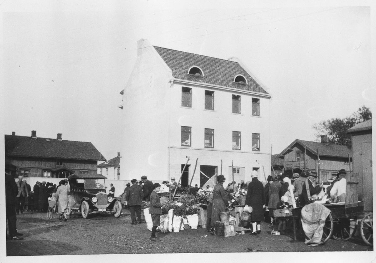 Torghandel i 1920-årene.