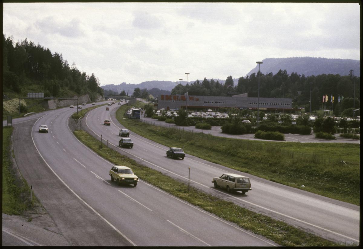 Motorveien E18 ved IKEA