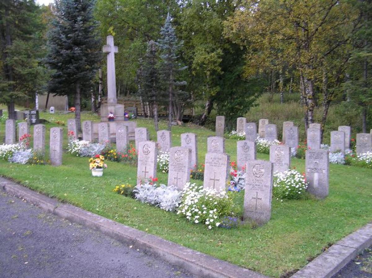 Kjøreanvisning: Narvik nye gravlund ligger i utkanten og nord for byen, like ved E6. Den er synlig fra E6
