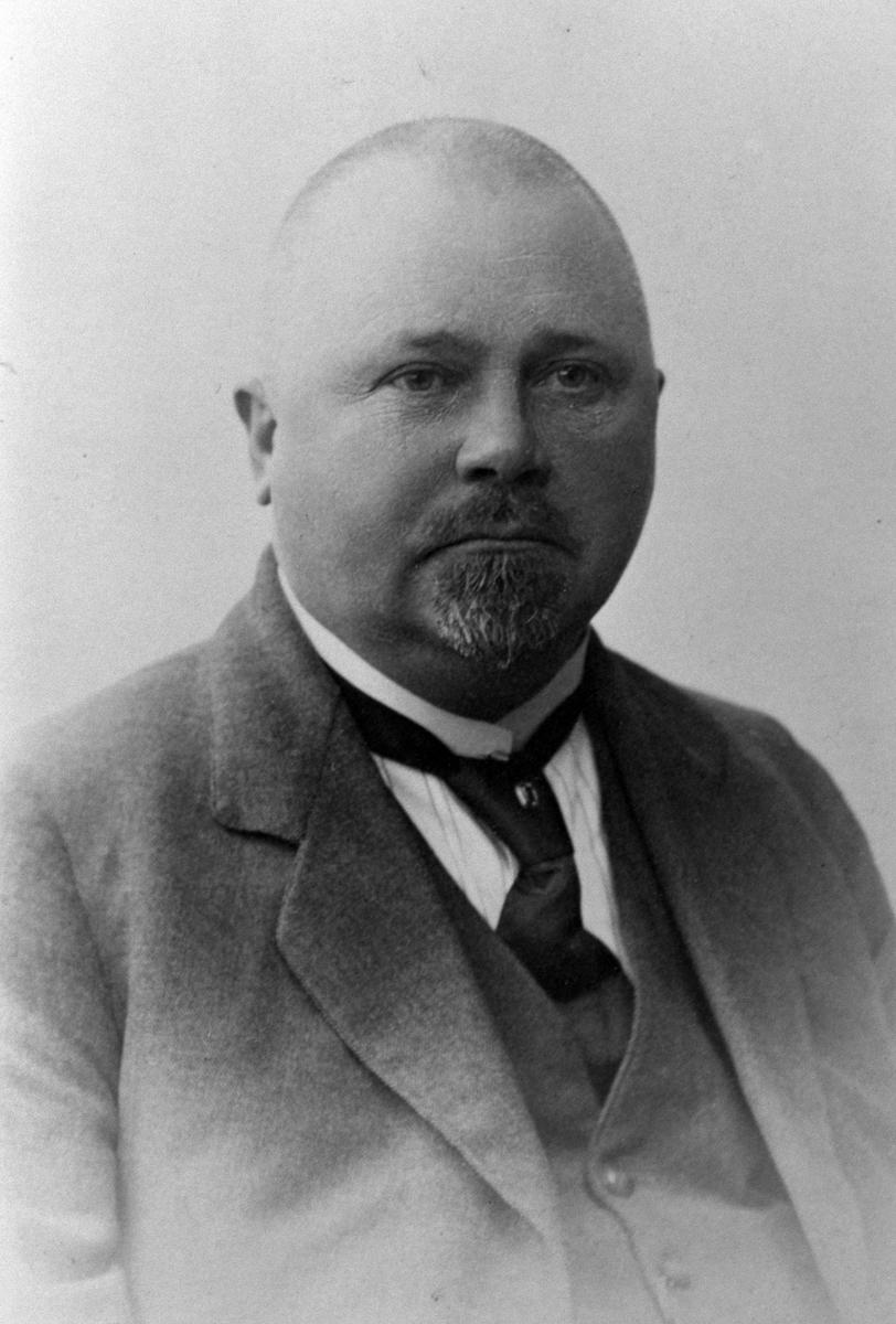 Eilert Jørgen Hoel (1868-1928), gardbruker på Hovinsholm, Helgøya.