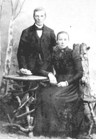 GRUPPE: 2, HANS LARSEN FØDT: 1868, FØRSTE KONE: AGNETE, TÅNGA UNDER INGVOLDSTAD TANGEN