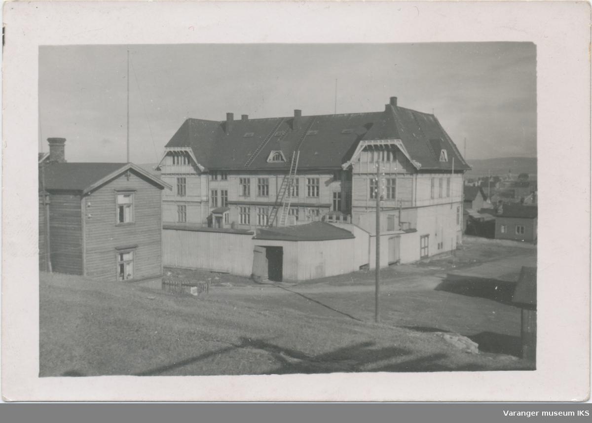 Vardø barneskole, antatt under krigen