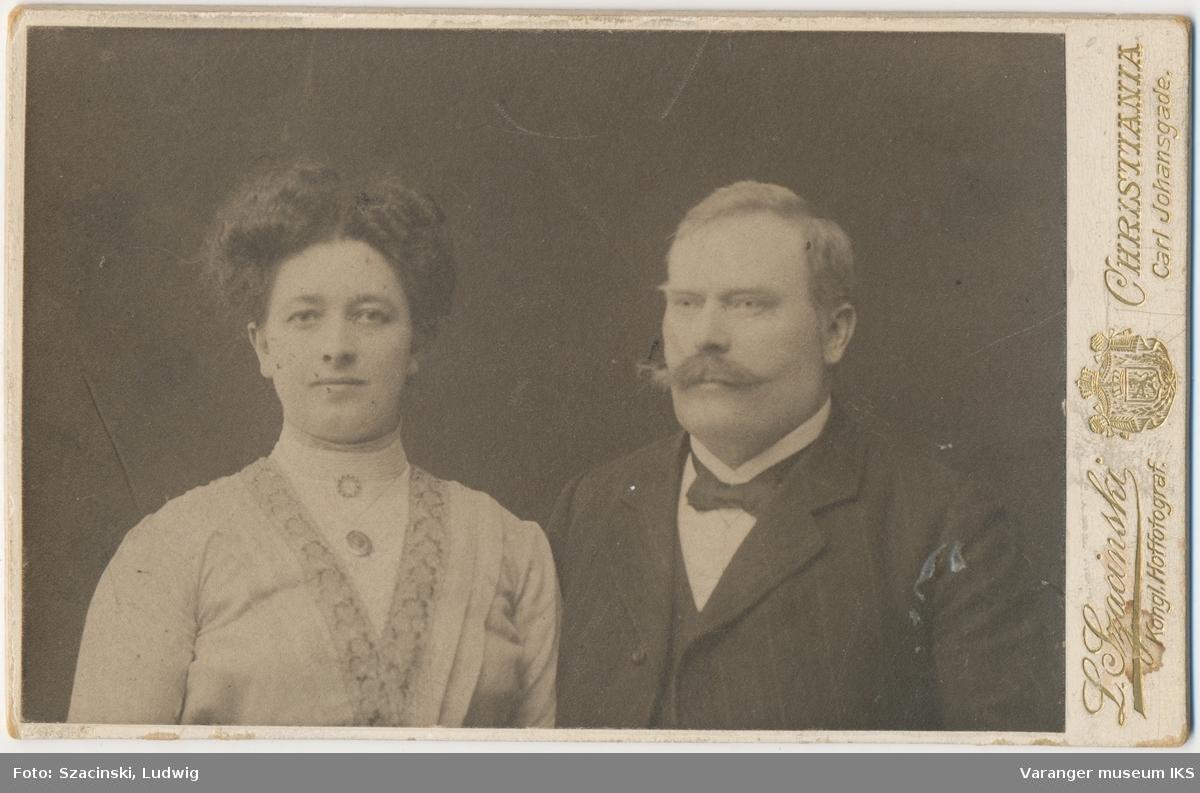 Dobbeltportrett, Effie og Christian Roseth