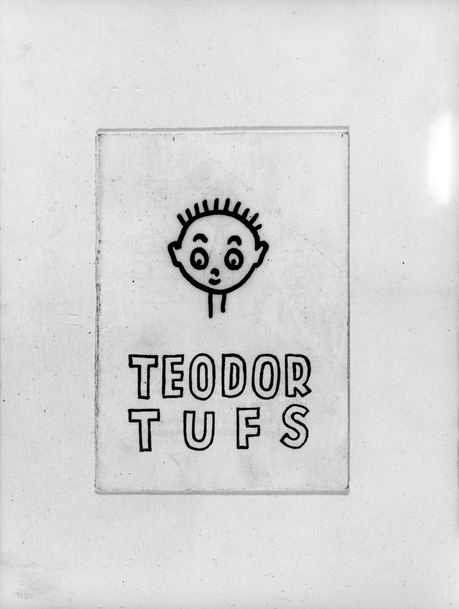 Historien om Teodor som får tilnavnet Tufs fordi han er uforsiktig og kan for lite om brannsikring