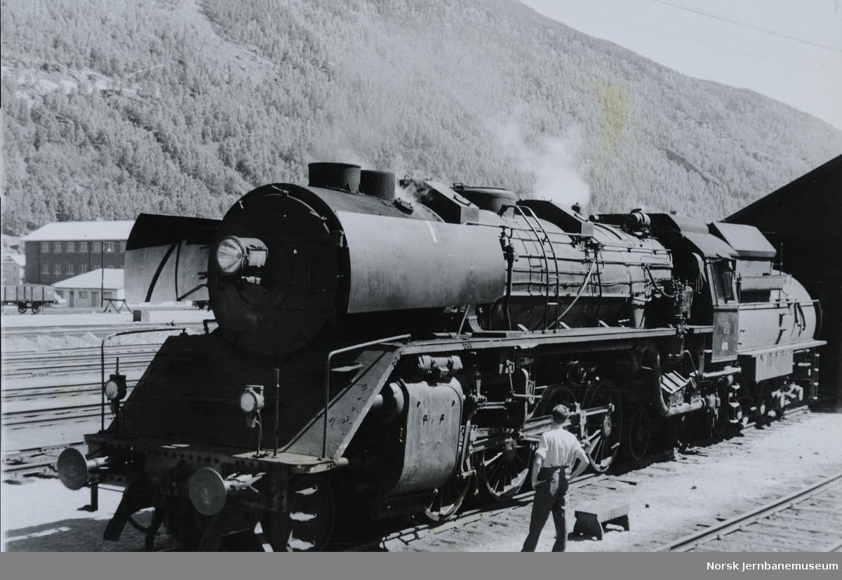 "Damplokomotiv NSB type 49 nr. 470 ""Dovregubben"""