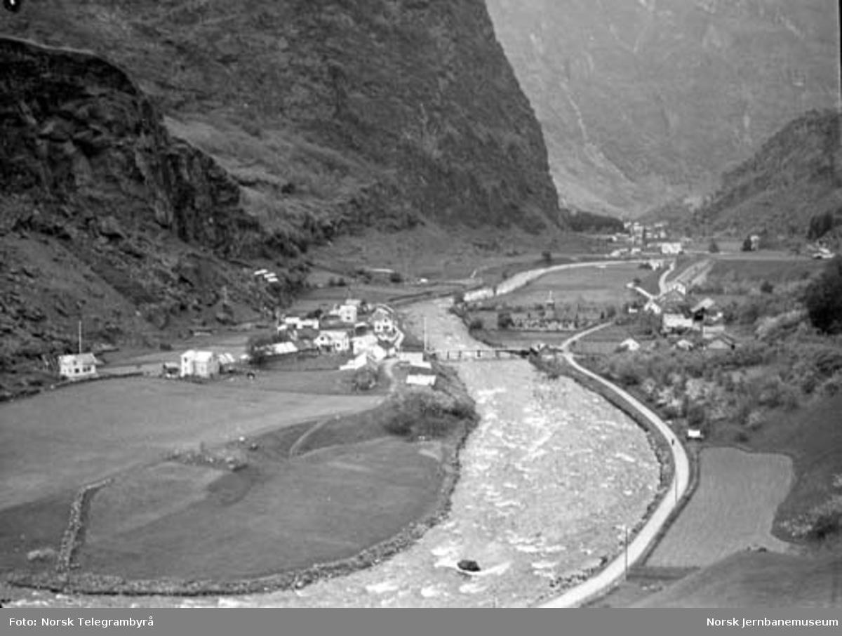 Profilvognkjøring på Bergensbanen : Flåmsdalen