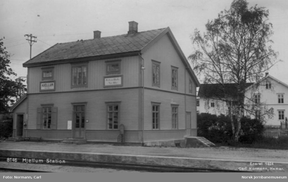 Hjellum stasjon