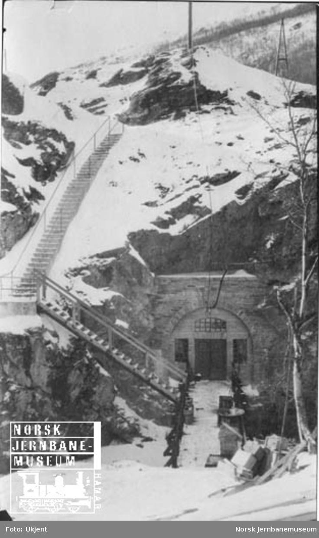 Statsbanenes kraftstasjon i Driva ved Kongsvoll
