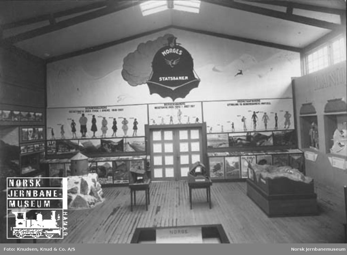 Bergensutstillingen i 1928 : utstilling om jernbanen