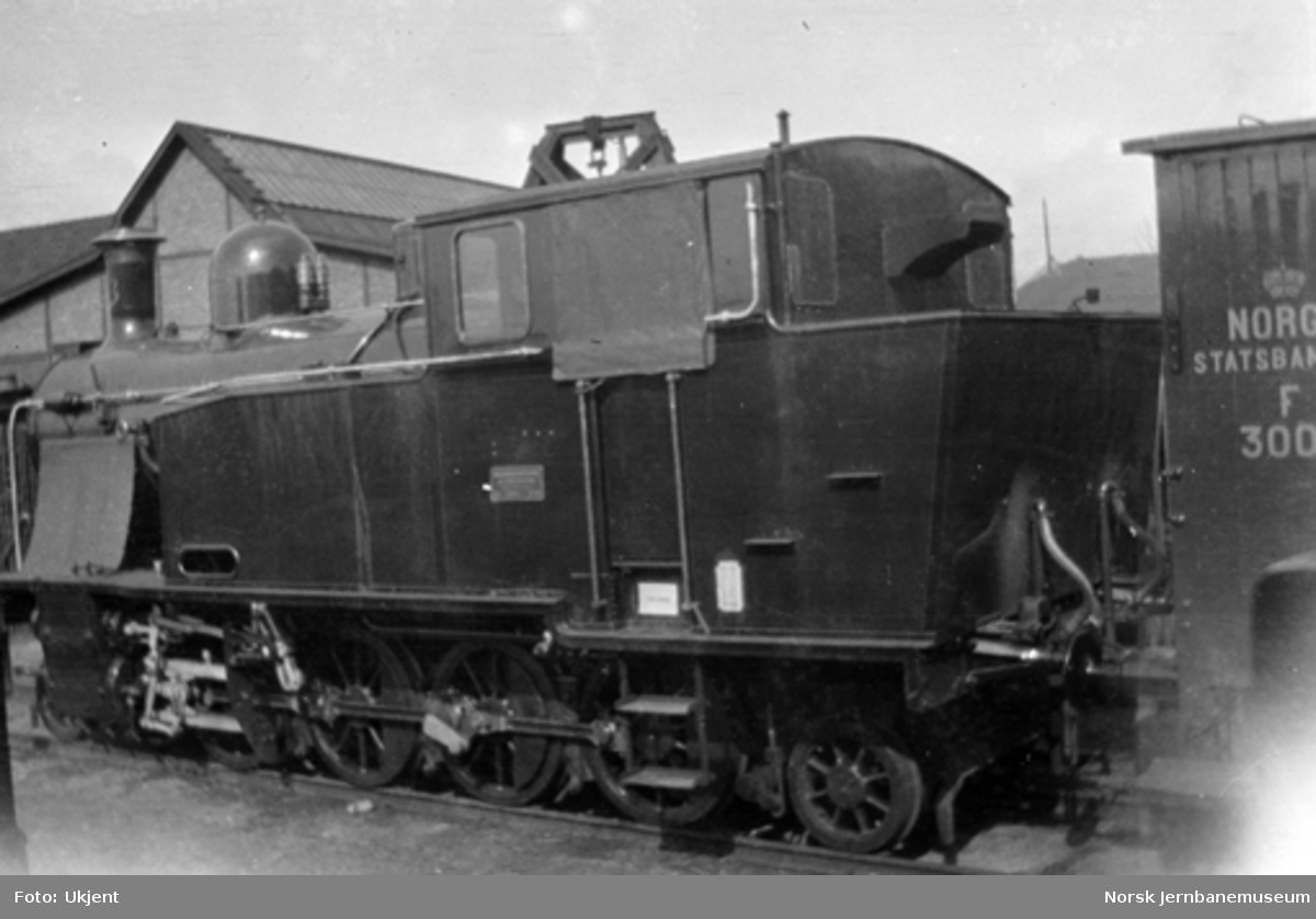 Valdresbanens damplokomotiv nr. 6 som nytt