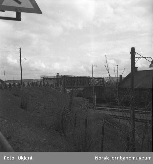 Hamar stasjon : overgangsbru for Stangevegen