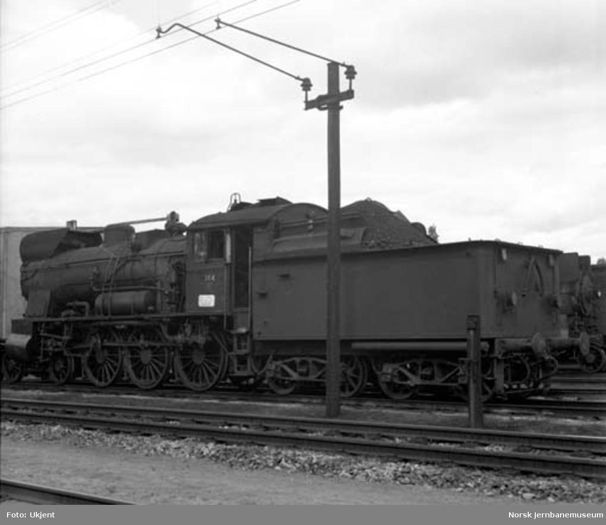 Damplokomotiv type 30b nr. 364