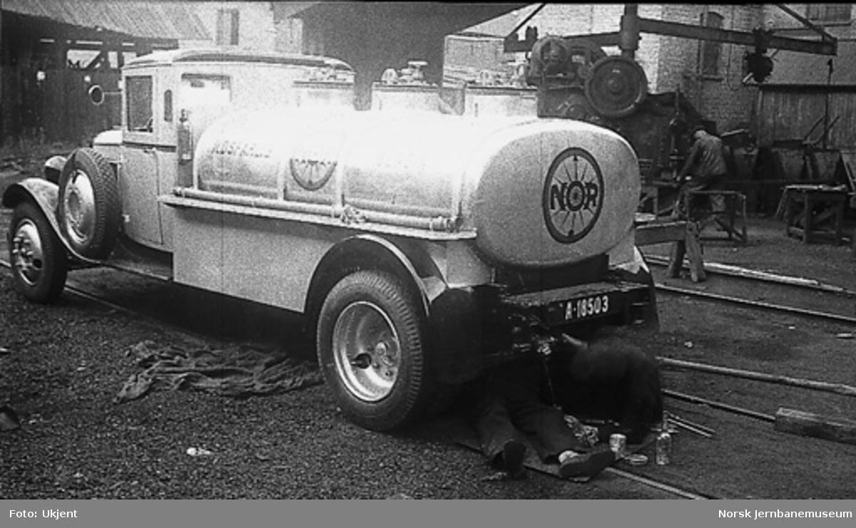 Citroen tankbil for NOR-bensin, A-18503