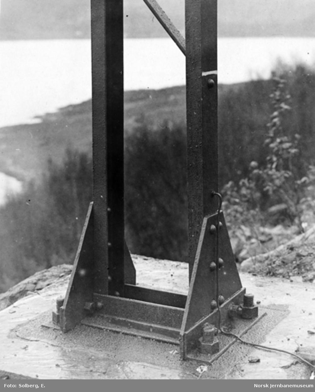 Ofotbanens elektrifisering : fundamentering av kontaktledningsmaster