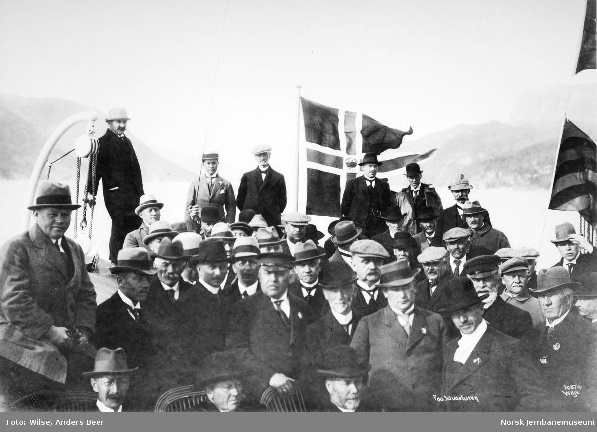 Sørlandsbanebefaring : på Saudaturen