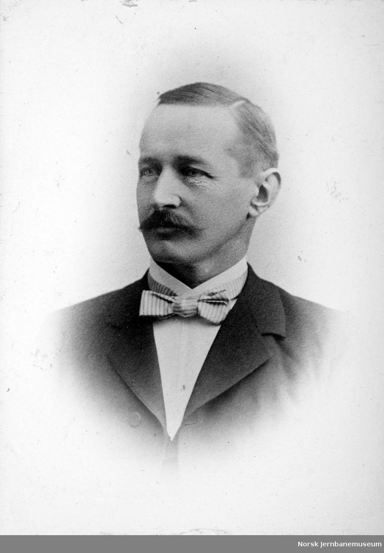 Portrett av intendant A. F. Andersen, LKAB 1907, 1909-1910